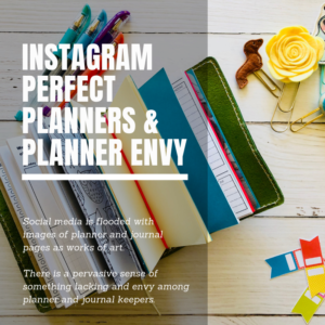 Instagram Perfect Planners & Planner Envy